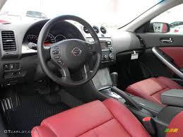 nissan altima coupe 2017 interior red interior 2012 nissan altima 2 5 s coupe photo 57948348
