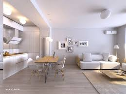the simple and spacious looks from minimalist apartment interior