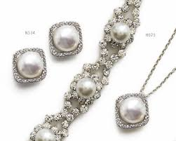ivory pearl bridal pearl headpiece wedding hair accessories o bridal