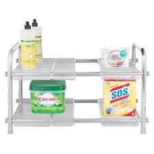 Under Sink Shelves by Sliding Pull Out Baskets For Kitchen And Pantry Storage Storables