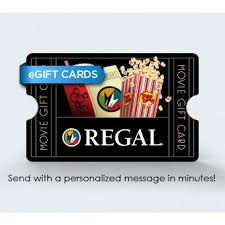e giftcard e gift card regal corporate box office