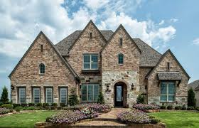 model home in dallas fort worth texas windsong ranch 75s community