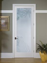 Decorative Glass Doors Interior Mazatlan Decorative Glass Interior Door Tropical