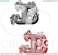 royalty free clip art vector abstract letter b design logos by
