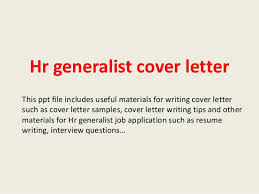 human resource assistant cover letter cover letter sample of an