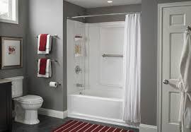 install a tub surround or shower surround installing bathroom