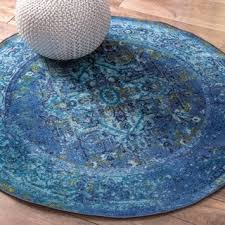 Childrens Round Rugs Rugged Wearhouse On Childrens Rugs With Great Blue Round Rug Yylc Co