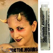 fx prosthetics for halloween stick on latex demon devil small fx horns halloween fancy dress