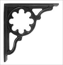 furniture amazing fancy metal shelf brackets cast iron shelf
