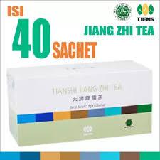 Teh Jiang tiens jiang zhi tea teh hijau tianshi ori pelangsing herbal