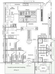 Kitchen Restaurant Design Contemporary Small Restaurant Kitchen Floor Plan Layout Plans S