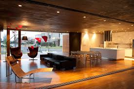 Ultra Modern Kitchen by Kitchen Ultra Modern Kitchen And Living Room Design With Lounge