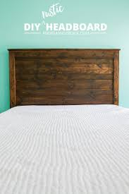 149 best headboards images on pinterest bedroom ideas headboard make your own diy rustic headboard andreasnotebook com ad