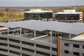 Solar Canopy by Standard Solar Completes Construction On One Of Maryland U0027s Largest