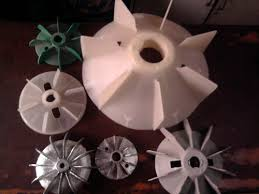 electric motor fan plastic electric motor spare accessory electric motor fan blade