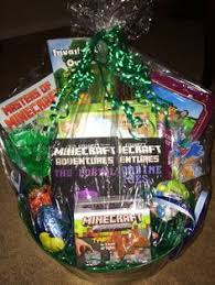 filled easter baskets wholesale minecraft easter basket minecraft easter basket