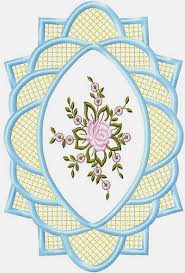 Free Embroidery Motive For Table Cloth For Instant Download - Table cloth design