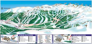Vail Colorado Map by Trail Maps The Slope
