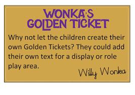 pet editable golden tickets free classroom display resource