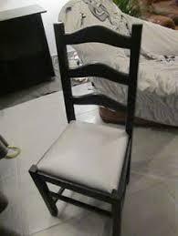 chaises paill es p coup de les chaises l assise en paille a été
