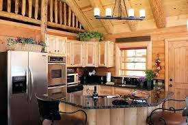 cabin kitchen ideas log cabin kitchens rustic log cabin kitchen with ladder to loft