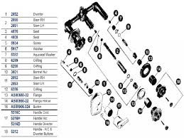 american standard shower faucet parts diagram periodic tables