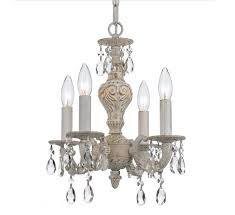 Shabby Chic White Chandelier Beautiful Shabby Chic Chandelier Ideas To Light Up Any Room In