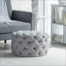 White Storage Ottoman Furniture Awesome White Storage Ottoman Padded Coffee Table With