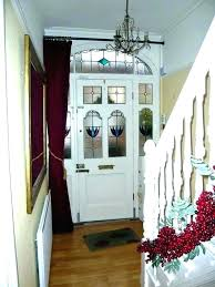 Curtains For Front Door Window Curtain Front Door S S Curtains Front Door Oval Window