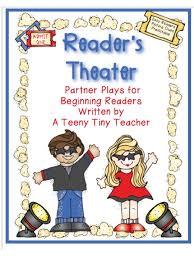 reader s theater edition a teeny tiny