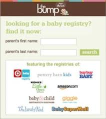 baby registries search thebump delivers world s only baby gift registry search