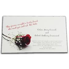 wedding invitations dublin wedding invitation printing by reads in dublin