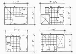 brilliant 20 bathroom layout minimum dimensions inspiration of