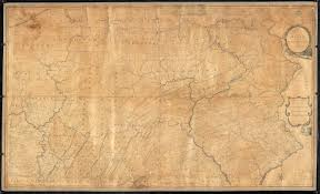 A Map Of Pennsylvania by A Map Of The State Of Pennsylvania Digital Commonwealth