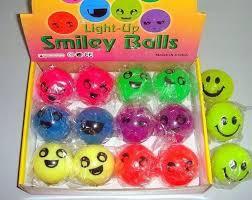 light up smiley balls magic led bouncy balls best christmas gift