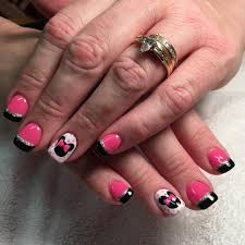nail art 33 stunning minnie mouse nail art picture inspirations