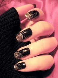 Black Manicure Designs 50 Boldest Black Nail Designs To Stand Out Of The Crowd
