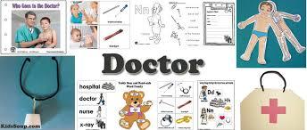 doctor preschool activities lessons and games kidssoup