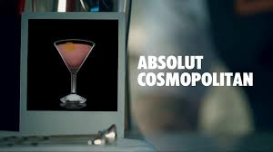 cosmo martini recipe how to make an absolut cosmopolitan cocktail recipe youtube