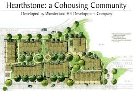 cohousing floor plans site and building plans hearthstone cohousing community