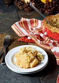 corn dish for thanksgiving creamed cornbread casserole the speckled palate