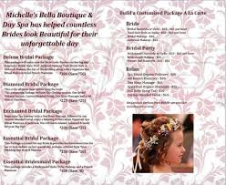 bridal makeup package bridal s boutique day spa
