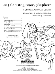 the tale of the drowsy shepherd score direc j w pepper sheet music