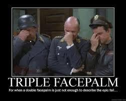 Meme Facepalm - triple facepalm meme 972 magazine