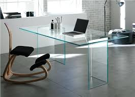 Small Glass Desk Office Depot Glass Desks For Small Spaces Small