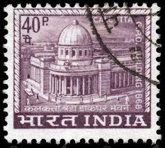 bureau de poste montr l inde circa 1968 un timbre imprimé en inde montre principal