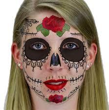 sugar skull day of the dead temporary
