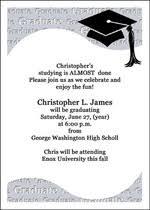 high school graduation invitation wording orionjurinform