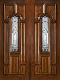 Craftsman 3 Panel Interior Door Double Entry Doors