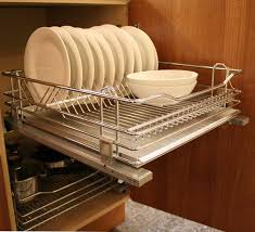 plate rack cabinet insert wirework chrome drawer plate rack 600mm full extension integrated